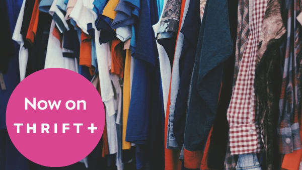 Donating Made Easy With Thrift +