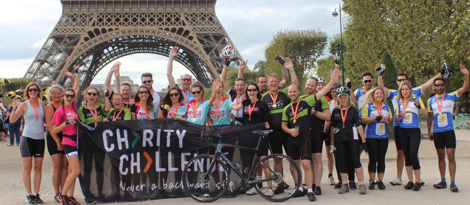 London to Paris Cycle Challenge September 2021