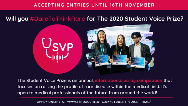 Student Voice Prize 2020