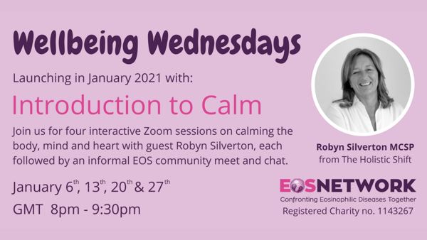 Wellbeing Wednesdays: Introduction to Calm